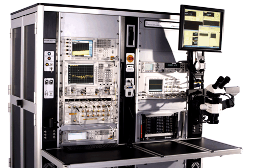 Peak Production - Dual Rack - Microwave Test Solution